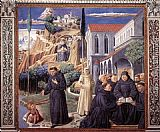 Benozzo di Lese di Sandro Gozzoli Scenes from the Life of St Francis (Scene 12, south wall) painting
