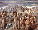 Benozzo di Lese di Sandro Gozzoli Scenes from the Life of St Francis (Scene 7, south wall) painting