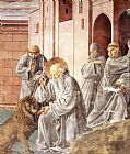 Benozzo di Lese di Sandro Gozzoli St Jerome Pulling a Thorn from a Lion's Paw painting