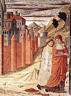 Benozzo di Lese di Sandro Gozzoli The Departure of St Jerome from Antioch painting