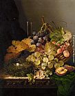 Edward Ladell Still Life with Birds Nest painting