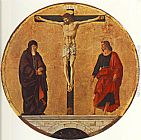 Francesco del Cossa The Crucifixion (Griffoni Polyptych) painting