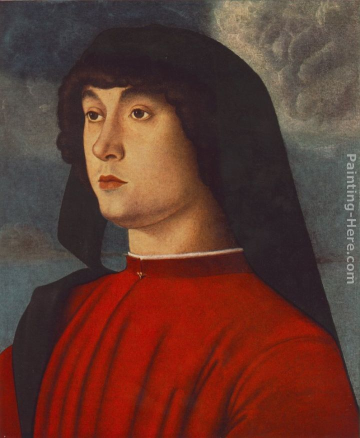Giovanni Bellini Portrait of a Young Man in Red