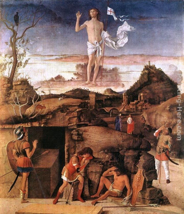 Giovanni Bellini Resurrection of Christ