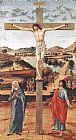 Giovanni Bellini Crucifix painting