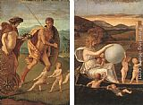 Giovanni Bellini Four Allegories Perseverance and Fortune painting