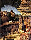 Giovanni Bellini Saint Jerome Reading painting