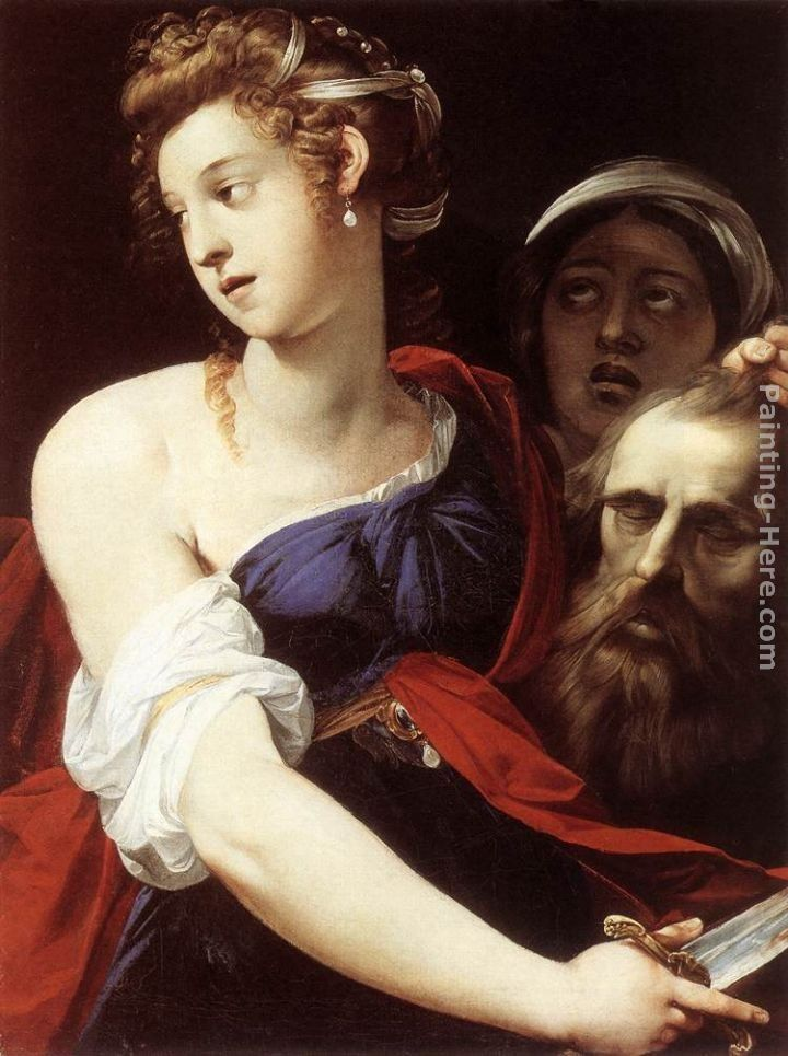 Giuseppe Cesari Judith with the Head of Holofernes
