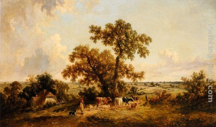James Edwin Meadows The Young Herdsman