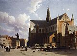 Jan Hendrik Weissenbruch View of Grote painting