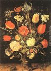 Jan the elder Brueghel Flowers painting