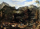 Joseph Anton Koch The Upland near Bern painting