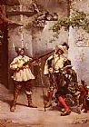 Ludovico Marchetti The Musketeers painting