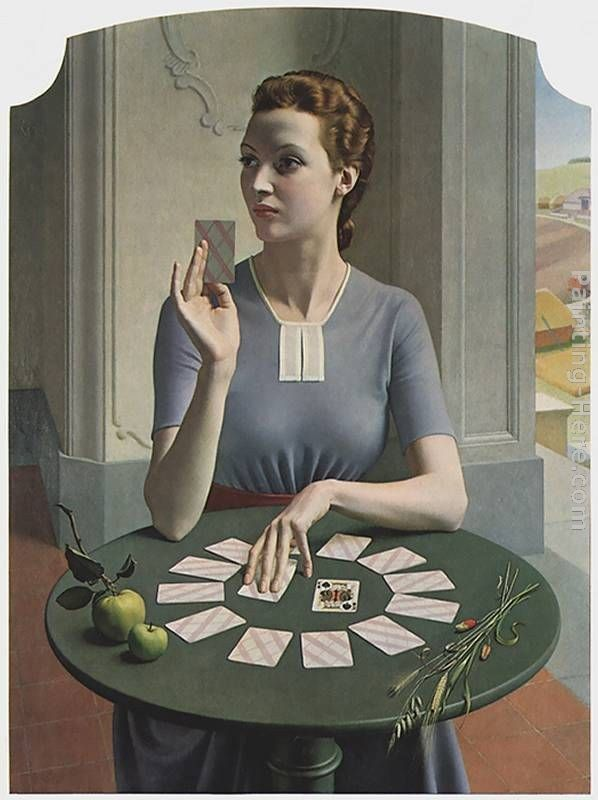 Meredith Frampton A Game of Patience