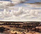 Philips Koninck An Extensive Landscape with a Road by a Ruin painting