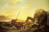 Pieter Christian Dommerson The Shipwreck painting