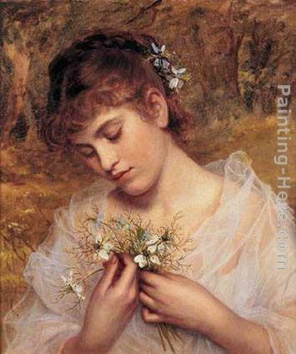 Sophie Gengembre Anderson Love In a Mist