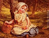 Sophie Gengembre Anderson Windfalls painting