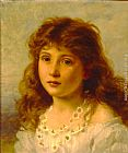 Sophie Gengembre Anderson Young Girl painting