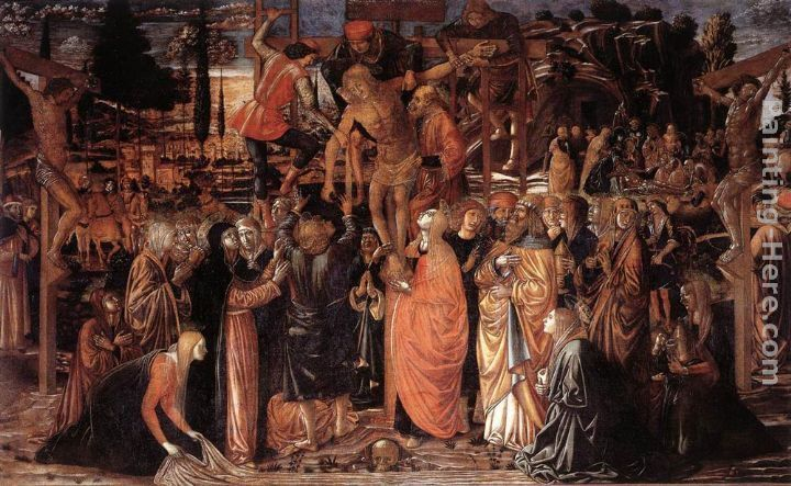 Benozzo di Lese di Sandro Gozzoli Descent from the Cross