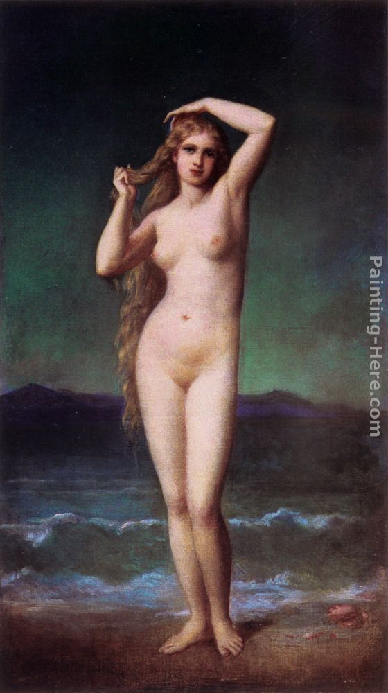 Eugene-Emmanuel Amaury-Duval The Bather