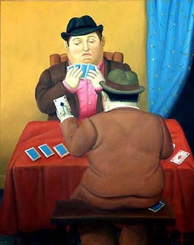 Fernando Botero Card Players