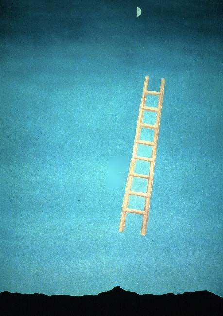 Georgia O Keeffe Ladder To The Moon Painting 50 Off