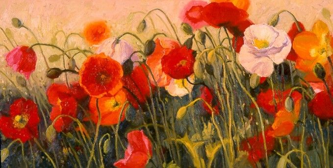 Shirley Novak Poppy Party