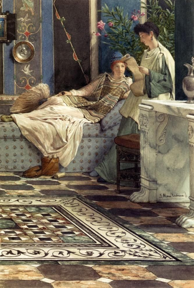 Share Sir lawrence alma tadema mine the