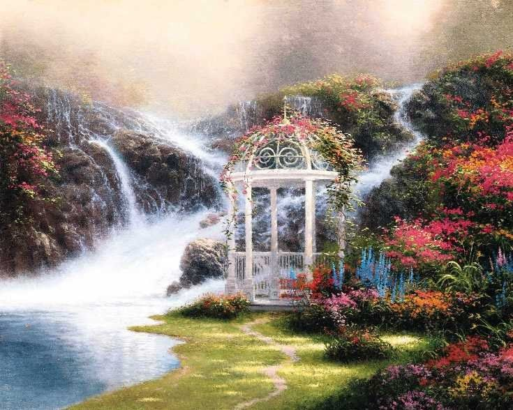 Thomas Kinkade Hidden Arbor