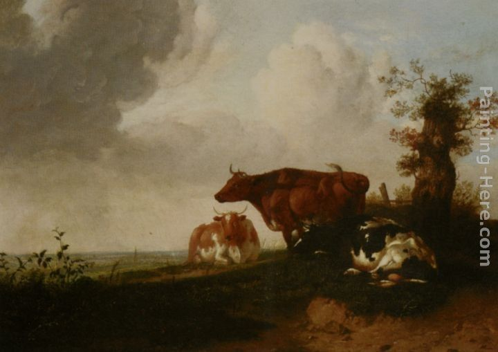 Thomas Sidney Cooper Cattle Resting
