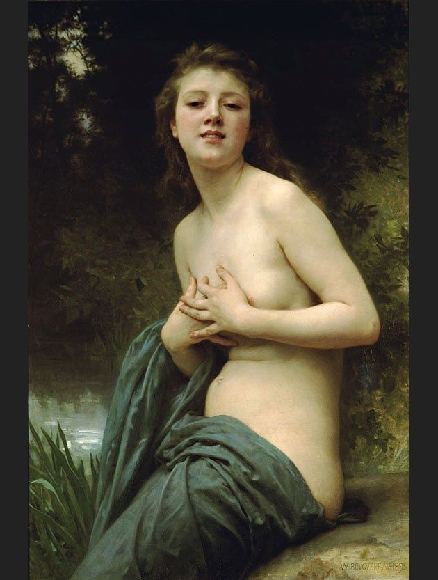 William Bouguereau Spring Breeze