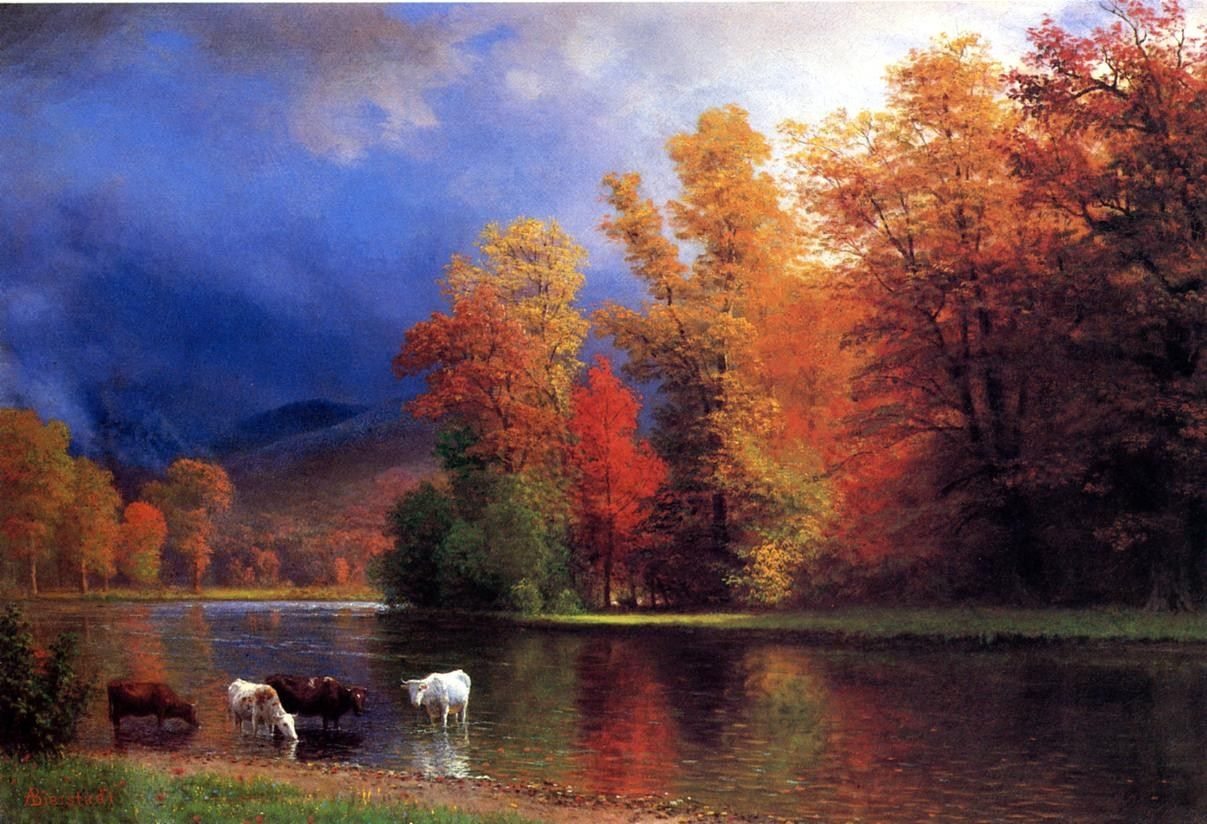 Albert Bierstadt On the Saco