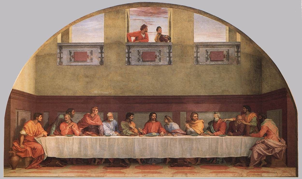 Andrea del Sarto The Last Supper