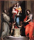 Andrea del Sarto Madonna of the Harpies painting