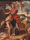 Andrea del Sarto The Sacrifice of Abraham painting