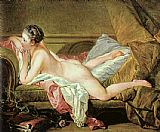 Francois Boucher Nude on a Sofa painting