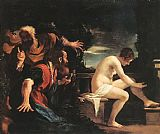 Guercino Susanna and the Elders painting