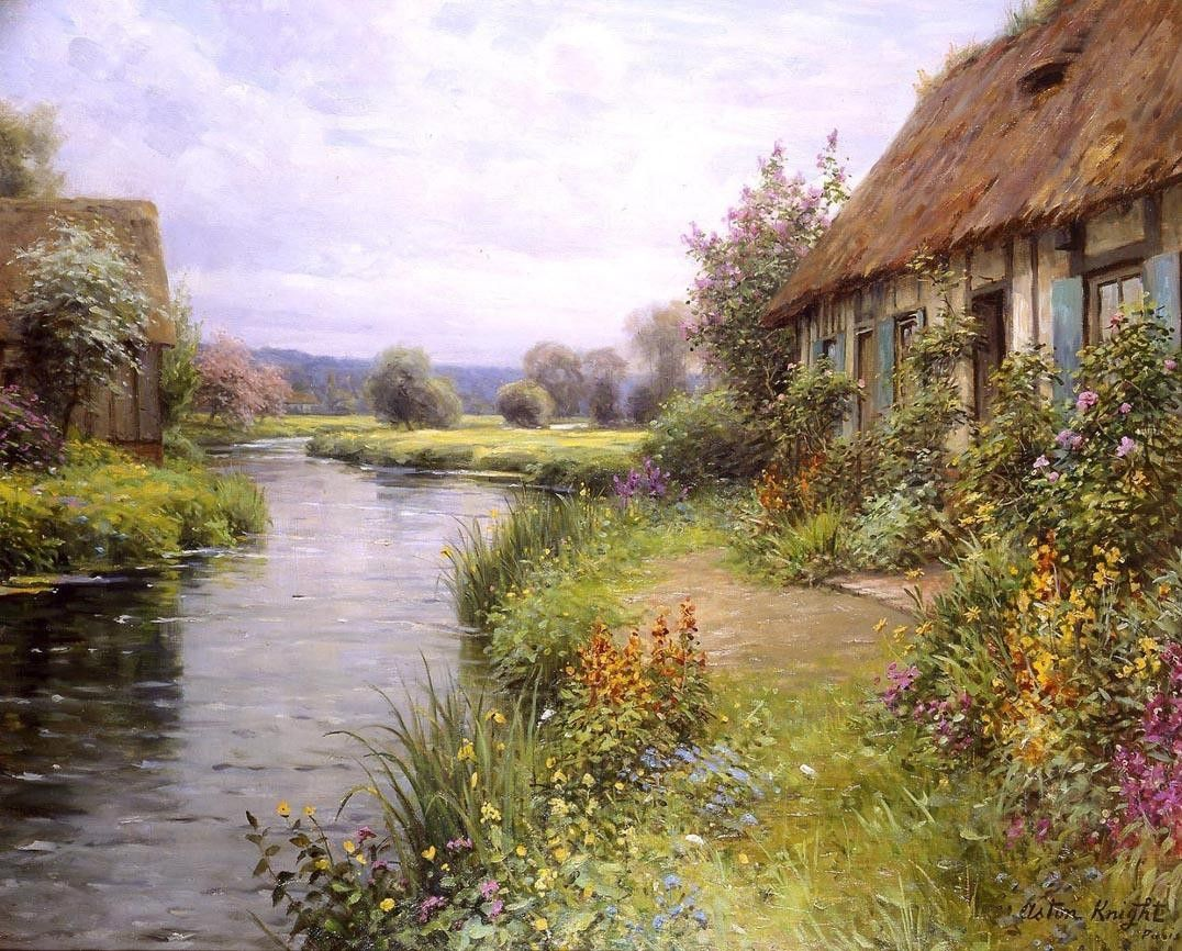 Louis Aston Knight A Bend in the River