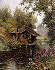 Louis Aston Knight A Beaumont-le-Roger painting