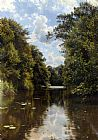 Peder Mork Monsted A Summer's Day painting