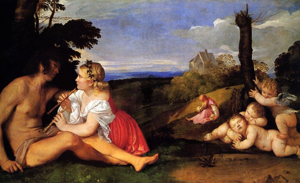 Titian The Three Ages of Man